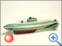 Antique Tin Boat<leeg>
