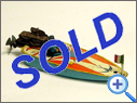 Antique Tin Boat