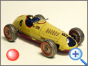 Classic British METTOY Racer Toy