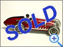 Antique MARX Tinplate Racer Toy