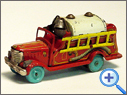 Vintage  & Classic Tinplate Fire Brigade Toy