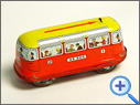 Vintage & Classic Public Transport Tin Toy