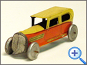 Antique  Public Transport Tin Toy