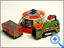 Vintage & Classic Tinplate Railway Toy