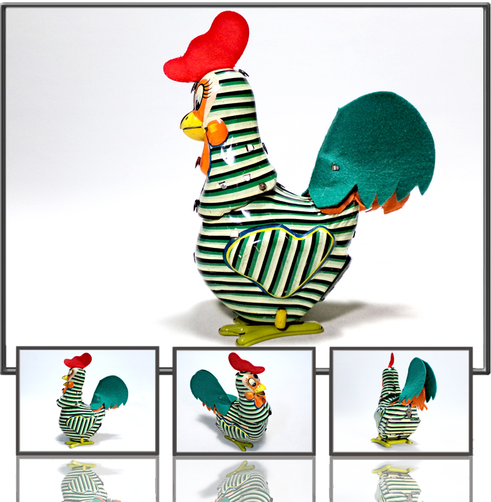 Doo Dle Doo rooster made by Mikumi, Japan, 1950s