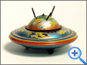 Vintage & Classic Tinplate Space Toy